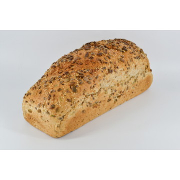 Teljes kiőrlésű magos FORMA kenyér 0,5 kg (Szeletelve is kérhető)