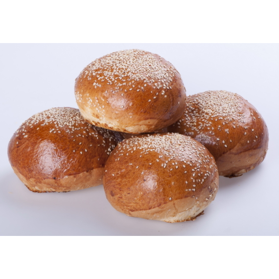 Puffancs (Hamburger zsemle) szezámos 0,1 kg (0,07 kg, 0,05 kg)